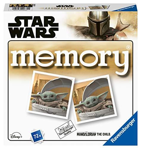 Ravensburger 20671 - The Mandalorian Memory -Star Wars, der Spieleklassiker für ...