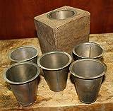Sugarmold Tin Inserts-Flat Bottom-Set 12