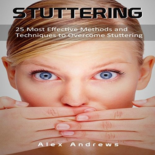 Stuttering audiobook cover art