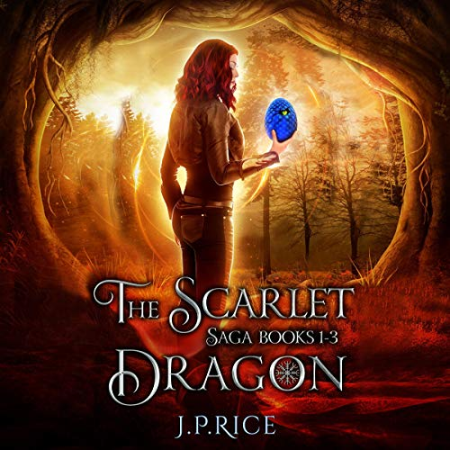 The Scarlet Dragon Saga, Books 1-3 cover art