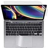【3点セット】 MacBook Pro 13インチ 2020用 ブルーライトカットフィルム 貼り付け失敗無料交換 液晶保護フィルム 超反射防止 映り込み防止 指紋防止 気泡レス 抗菌ブルーライトカット アンチグレア