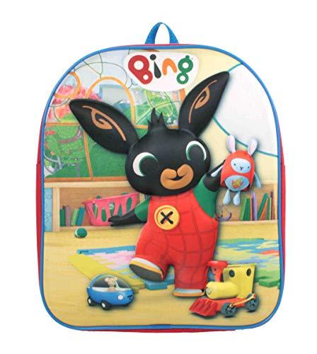 Cbeebies Bing 3D Eva Playtime Red Backpack