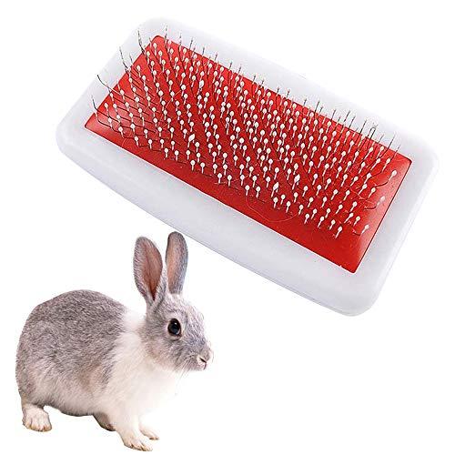 Cepillo de pelo para conejos y conejillos de Indias, peine para el...