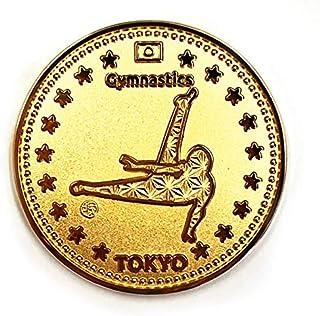 TOKYO SPORTS 記念 アスリートコイン 体操 Gymnastics 金メダル 東京 スポーツ 高級 磨き仕上げ 日本製 Made in Japan オリジナルケース 入り