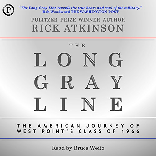 The Long Gray Line audiobook cover art