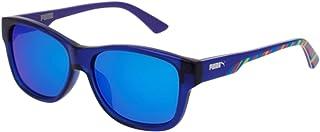 63a48b8562 Puma PJ0004S 002 Gafas de Sol, Azul Bluee, 49 para Niños