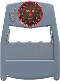 ABSプラスチック+メタル製 ポータブル 測定0〜130キロまで  握力計 グリップ 強度 測定 メータ