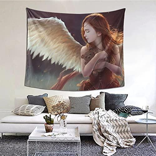 Tapiz para colgar en la pared, para ventana, decoración del hogar, para dormitorio, collage y oficina, 152 x 152 cm