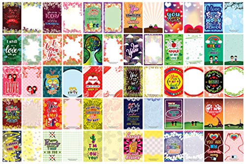 Romantic Inspirational Lunch Box Love Notes Series 2 (120-Cards)- Mini Educational Information Cards Set – Unique Gift Set for Boys, Girls – School Home Rewards Incent