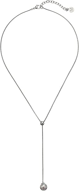 Majorica - Pearl 18K Gold Y-Necklace
