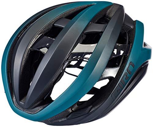 Giro Aether MIPS Casco de Ciclismo Road, Unisex Adulto, Verde y Negro...