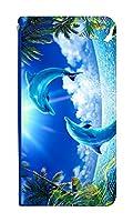スマホケース 手帳型 [iPhone6sPlus] ケース クリスチャン ラッセン 0138-C. TROPICAL MEMORY アイフォン 6s プラス ケース アイフォン シックスエスプラス ベルトなし スマホゴ