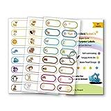 Baby Bottle Labels for Daycare,School, Waterproof Write-On,...