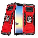 DASFOND Diseñado para Galaxy Note8 Funda, Funda Protectora de Grado Militar para teléfono con...