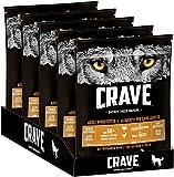 CRAVE Premium Trockenfutter mit Truthahn & Huhn für Hunde – Getreidefreies Adult Hundefutter mit hohem Proteingehalt – 5 x 1 kg
