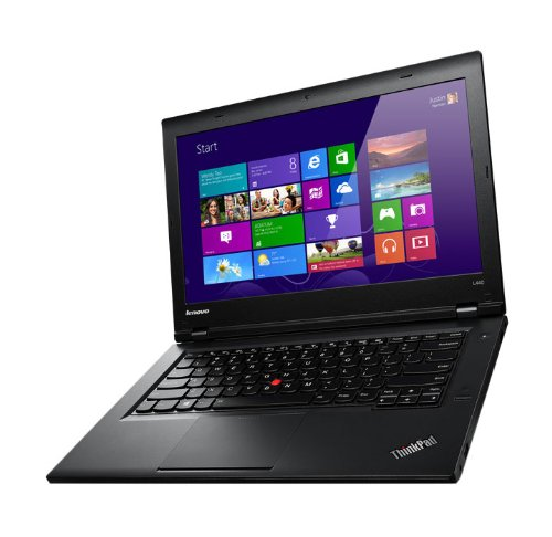 Lenovo L440 14-inch ThinkPad Laptop (Intel Core i3 2.4 GHz Processor, 4 GB DDR3 RAM, 500 GB HDD, Front Camera, Windows 7 Professional 64-Bit)