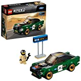 LEGO- Speed Champions Ford Mustang Fastback, Multicolore,...