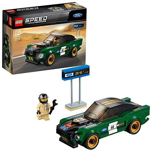 LEGO 75884 Speed Champions 1968 Ford Mustang Fastback (Vom Hersteller nicht mehr verkauft)