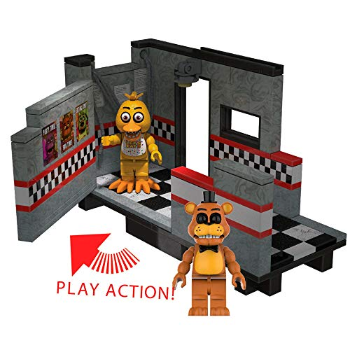FIVE NIGHTS AT FREDDY'S McFarlane Toys East Hall Medium Construction Set