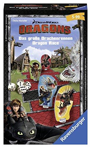Ravensburger 23432 - Dragons: Das groߟe Drachenrennen - Kinderspiel/ Reisespiel