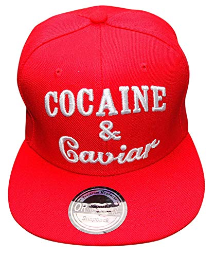 Snapback Cap Uni (Cocaine rot)