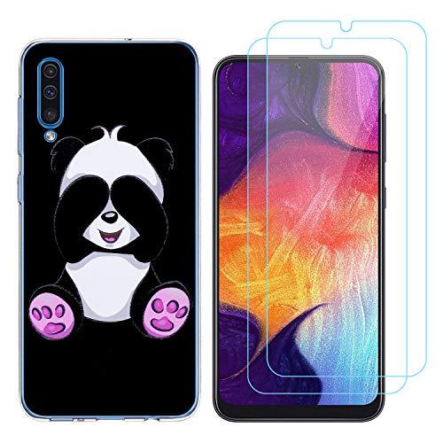 crisant Cover Samsung Galaxy A50 Timido Panda Morbido...