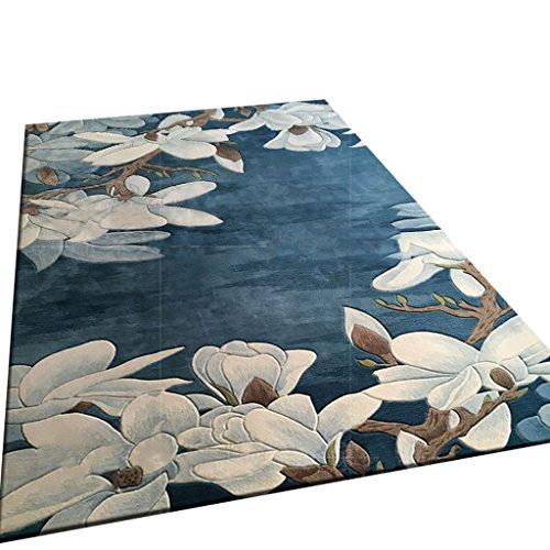 Tapis de laine de Nouvelle-Zélande, nettoyage à sec européen, pour la décoration de table basse de chambre à coucher de salon, multi-taille facultative (taille : 250cm*350cm)