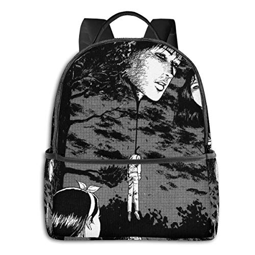IUBBKI Anime & Junji Ito - Floating Heads Classic Student School Bag School Cycling Leisure Travel Camping Outdoor Backpack