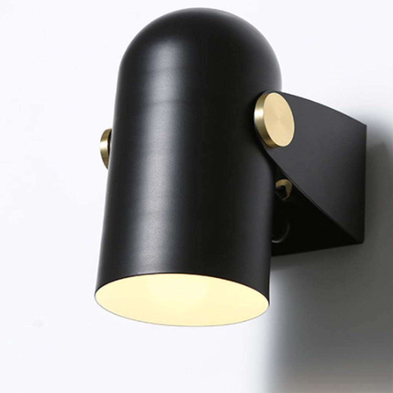 ZHAOHUIFANG Moderne Minimalistische Kreative Nachttischlampenschlafzimmerwandlampe Führte Wandlampentreppenkorridor-Bekleidungsgeschftscheinwerfer