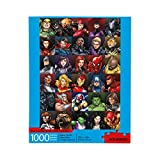 AQUARIUS Marvel Puzzle Superheroes (1000 Piece Jigsaw Puzzle) - Officially Licensed Marvel Merchandise & Collectibles - Glare Free - Precision Fit - Virtually No Puzzle Dust - 20 x 28 Inches
