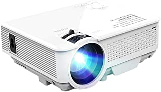Mini LED Projector, 800X480, Compatible with Full HD Video Projector for Home Theater, 2200 Lumen Cinema Projector, Media ...