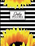 Undated Daily Planner: Timed to-Do List for Priorities, Meal Planner, Daily Tasks, Water Intake, Notes, Today's Insights, 120 Pages 8.5 x 11, ... Best Gift Ever (UNDATED DAILY PLANNERS) -  Independently published