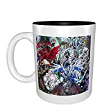 Mat Depot Yu-Gi-Oh Coffee Mugs 16 Ounce Ceramics Large-sized Travel Mugs High Temperature Resistant Set Perfect for Cafes for Gifts