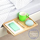 BedShelfie The Original Bedside Shelf - 9 Colors / 4 Sizes - AS SEEN ON Business Insider (Minimalist Style, Natural in Bamboo)