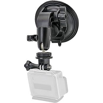 Mini Coche Soporte de montaje de ventosa//Rosca de 4 para Cámara Gopro Hero Sports ne U9O2