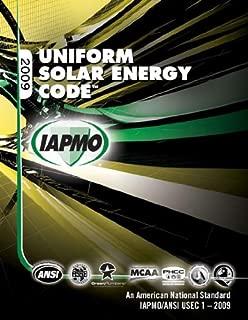 2009 Uniform Solar Energy Code
