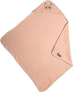 Happy Little Steps Baby Swaddle Blanket Unisex Newborn Infants wrap Receiving Blanket Funny Eyes Hooded Towel 100% Organic...