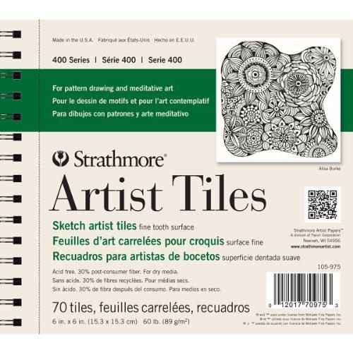 Strathmore str-105–97570Tabelle Künstler Fliesen Sketch Pad, 6von 15,2cm