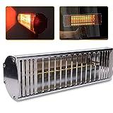Secador de pintura portátil de 220 V, lámpara de calefacción por infrarrojos, herramienta de barnizado, 1000 W, pulverizador de infrarrojos, para secadora, calefacción de onda corta, panel de secado