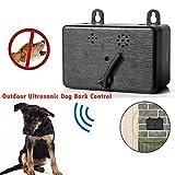 XIAXIA Dispositif Anti-aboiements ultrasonique Dog Bark Control Devices, 2020 Bouchon de Protection Anti-aboiement amélioré pour Chien, Anti-Aboiement Enseignement Ultrason pour Chiens