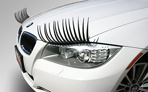Top eyelashes for car headlights vw bug for 2020
