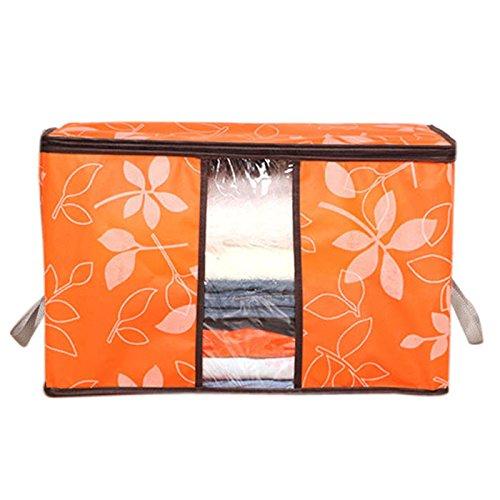 ALIKEEY Kleidersäcke 2015 Storage Organization/Designer Flower Printed Quilt Storage Bags