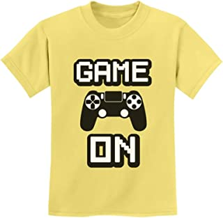 Tstars - Game On - Awesome Gift for Gamers - Gaming Gamer Youth Kids T-Shirt