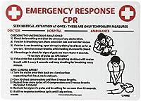 警告緊急対応 金属板ブリキ看板警告サイン注意サイン表示パネル情報サイン金属安全サイン