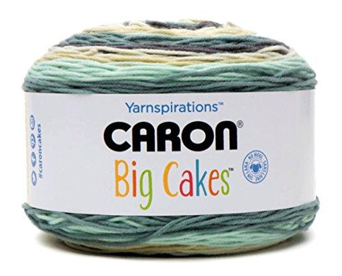 Caron Big Cakes Self Striping Yarn ~ 603 yd/551 m / 10.5oz/300 g Each (Afternoon Tea #26024)