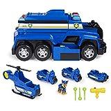 Patrulla Canina- Paw Patrol-Camião de Polícia Deluxe Juguete (Spin Master Toys Far East Ltd. 6058329)