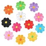 OFNMY 36pcs Parches Bordados de Flores Mochilas Personalizadas para Ropa,Vestido,Sombrero,Costura Bricolaje DIY