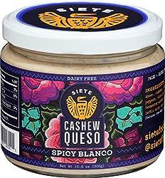 Siete, Spicy Blanco Cashew Queso, 10.8 oz