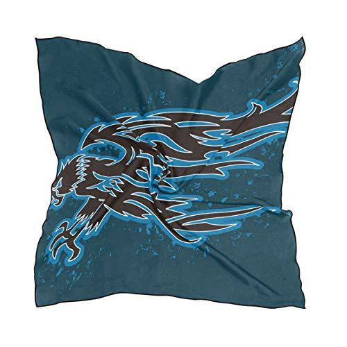 FANTAZIO bufanda con diseño de águila y foca ligera para niñas en...