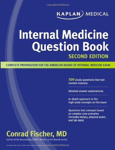 Kaplan Medical Internal Medicine Question Book